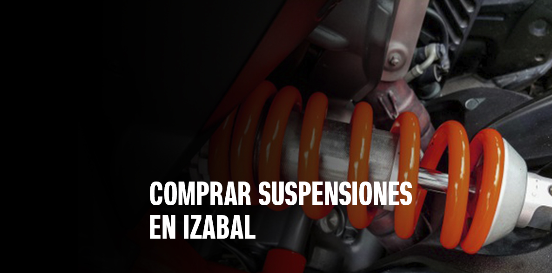 Comprar suspensiones en Izabal