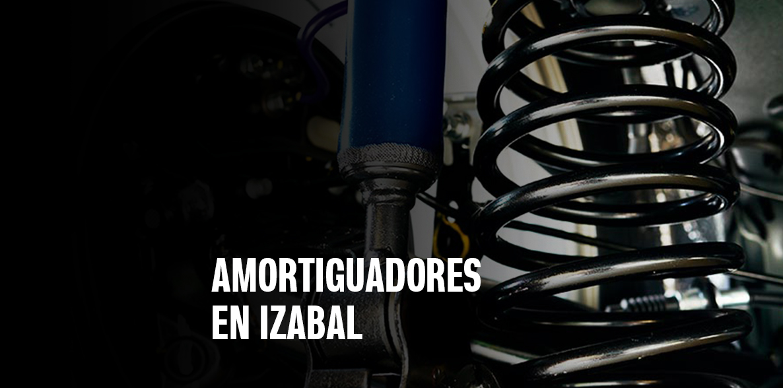 Amortiguadores en Izabal