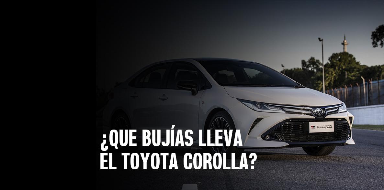Que bujías lleva el Toyota Corolla